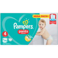 Pieluchomajtki Pampers Mega Pack Plus