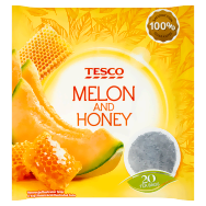 Tesco Melon and Honey Herbatka owocowa 40 g (20 torebek)