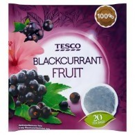 Tesco Blackcurrant Fruit Herbatka owocowa 40 g (20 torebek)