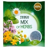Tesco Mix of Herbs Herbatka ziołowa 40 g (20 torebek)