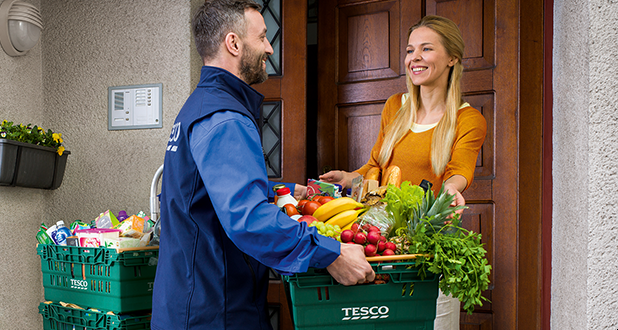 Shop online with Tesco and get a 15 zł discount for first purchase