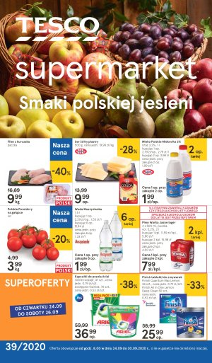Tesco gazetka - Supermarkety