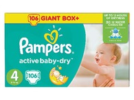 Pieluchy Pampers Box