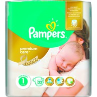 Pieluchy Pampers Premium Newborn i Mini