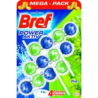 Kostki do WC Bref Power Aktiv 3 x 50 g