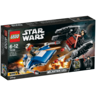 Lego Star Wars A-Wing Kontra Tie Silencer