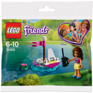 Lego Friends Łódka Olivii