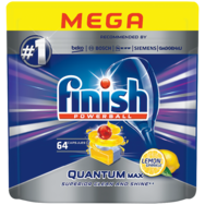 Tabletki do zmywarek Finish 3XL & Giga -50%