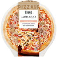 Pizza capricciosa Tesco