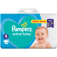 Pieluchy Pampers Mega Pack