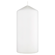 F&F Basic Pillar candle white 150x70