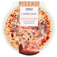 Tesco Capricciosa Pizza 384 g