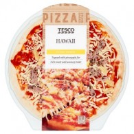 Tesco Hawaii Pizza 394 g