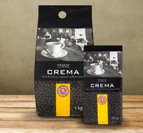 100% Arabica COFFE CREMA